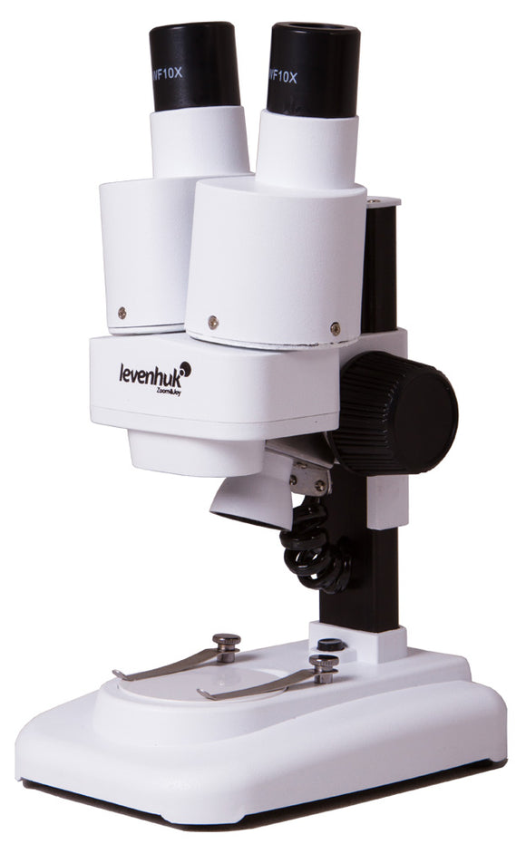 Magnification: 20x. Stereo microscope with 65mm working distance.