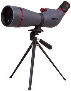 Magnification: 20–60x. Objective lens diameter: 80mm
