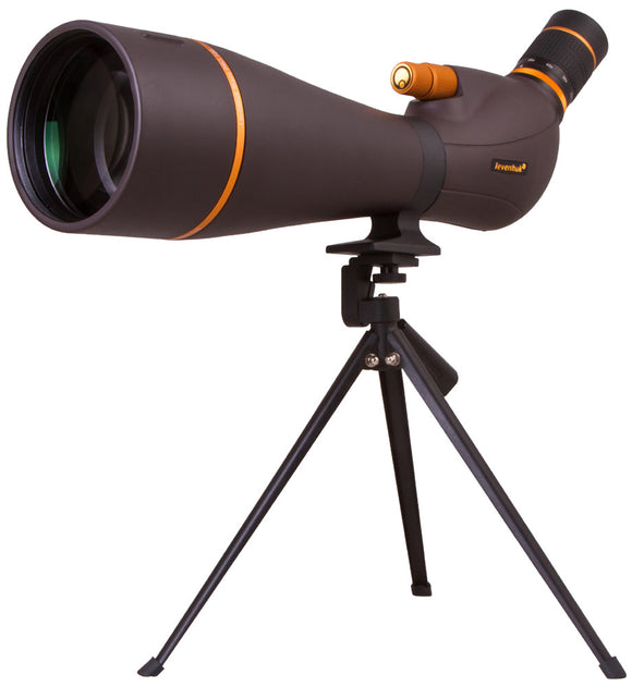 Magnification: 25–75x. Objective lens diameter: 100mm
