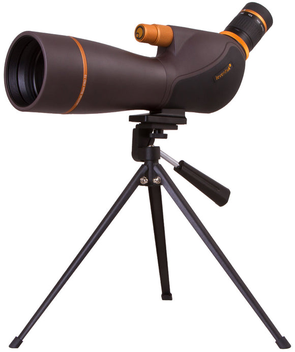 Magnification: 20–60x. Objective lens diameter: 70mm