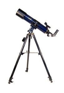 Refractor. Objective lens diameter: 90 mm. Focal length: 600 mm