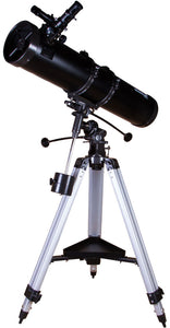 Newtonian reflector. Aperture: 130mm. Focal length: 900mm