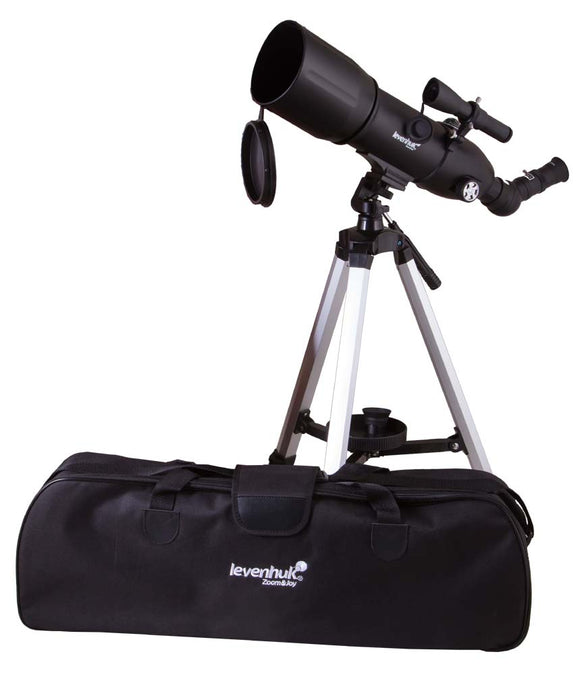 Refractor. Objective lens diameter: 80 mm. Focal length: 400 mm