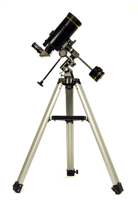 Maksutov-Cassegrain telescope. Objective lens diameter: 90 mm. Focal length: 1250 mm.