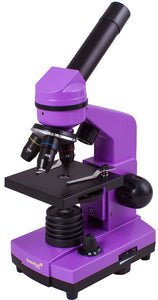 Stylish microscope for the most inquisitive observers. Experiment kit included. Magnification: 40-400x.