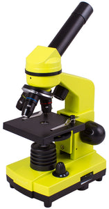 Ideal educational microscope. Experiment kit and detailed user guide included. Magnification: 40-400x.