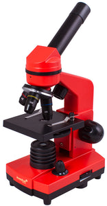Striking microscope for striking discoveries. Experiment kit included. Magnification: 40-400x.