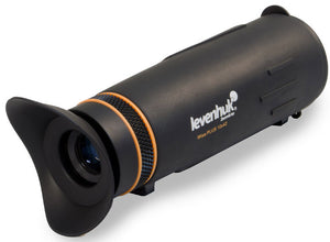 Wide range of capabilities in an ultra-compact body. 10x magnification power and 42-millimeter objective lens.