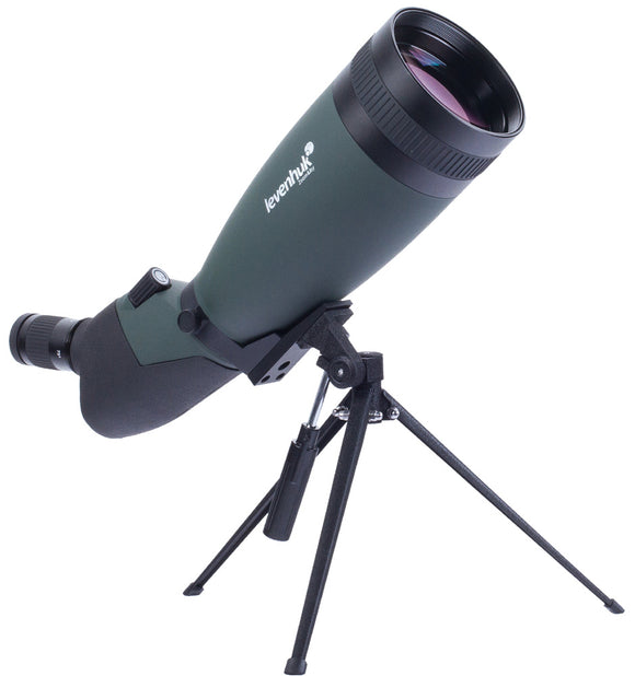 Superior optics and thoughtful design. Magnification: 25–75x. Objective lens diameter: 100 mm