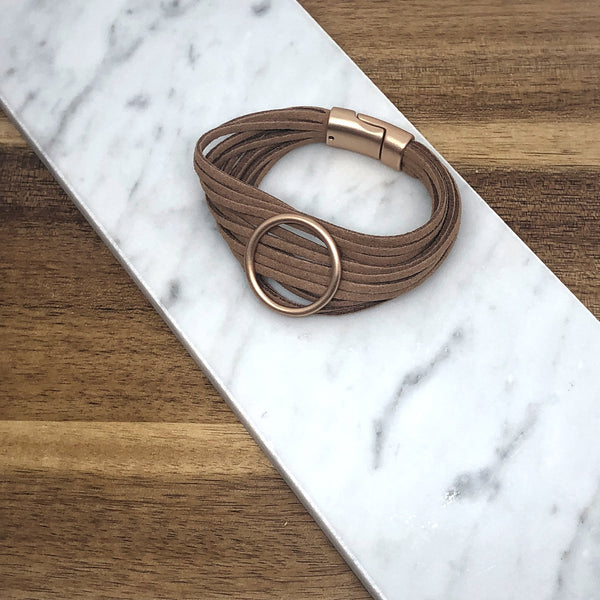 Avery Leather Cuff Bracelet