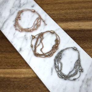 Nelly Multi-chain Bracelets