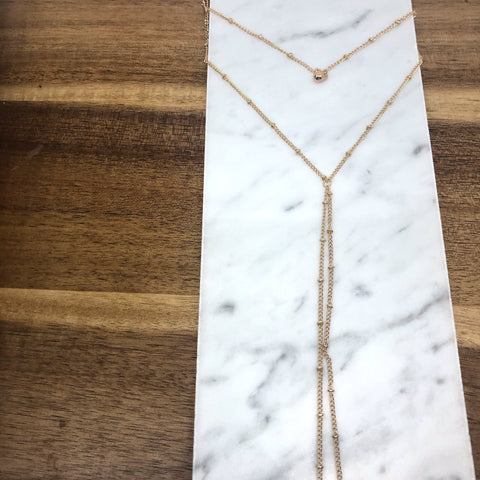 Niko Double Layer Necklace