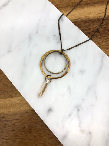 Ornamental Things - Moon Drop Necklace