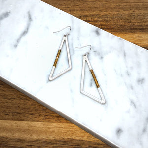 Nadia Mixed Metal Earring