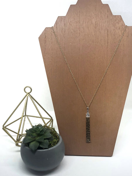 Echo Mixed Metal Necklace