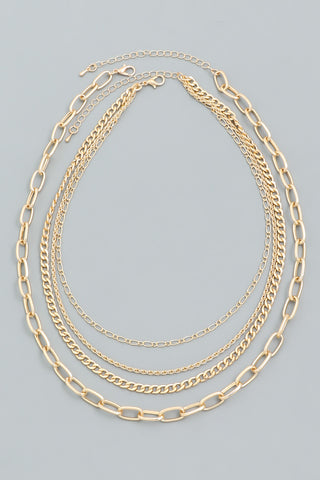 Layered Paperclip Chain