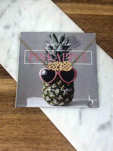 Pineapple of My Eye Necklace
