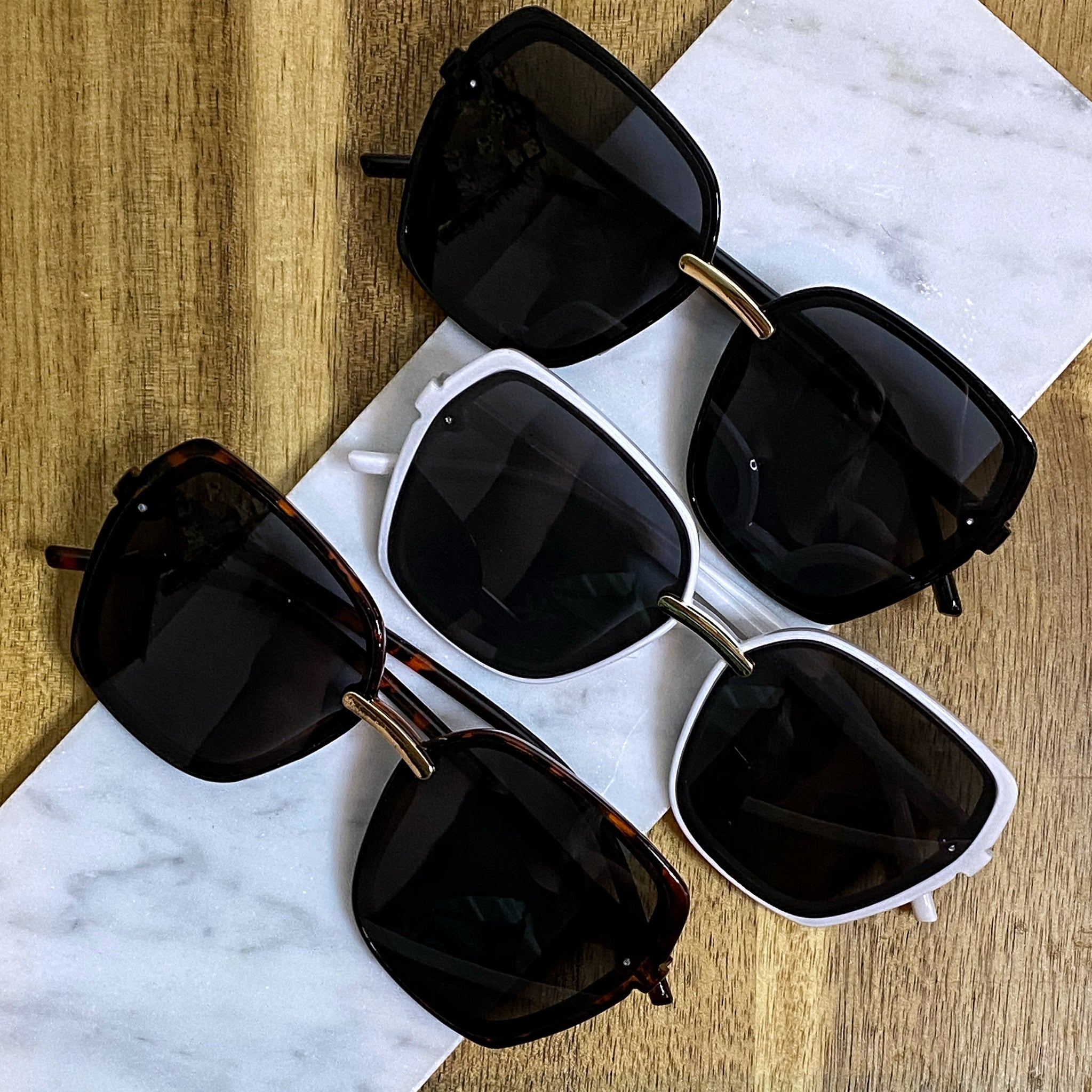 Blaire Large Square Sunnies