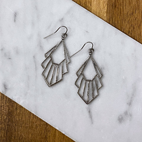 Betty Antique Fan Earring