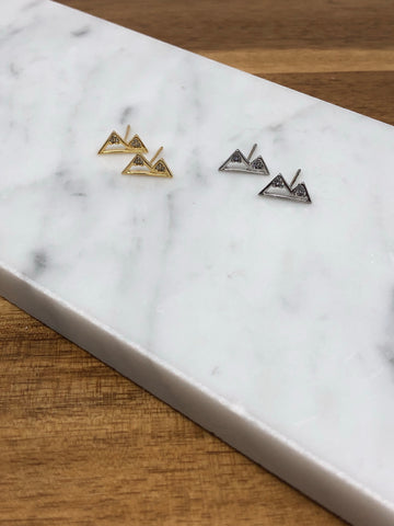 Dainty Mountain Studs