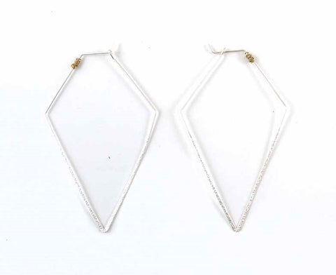 Darie Diamond Hoop Earring