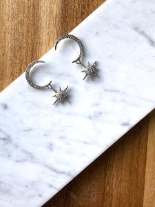 Dina Moon & Star Earring