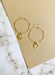 Hazel Hoops Earring - Harper Made