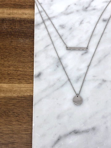 Logan Double Layer Necklace