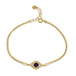 Evil Eye Adjustable Bracelet