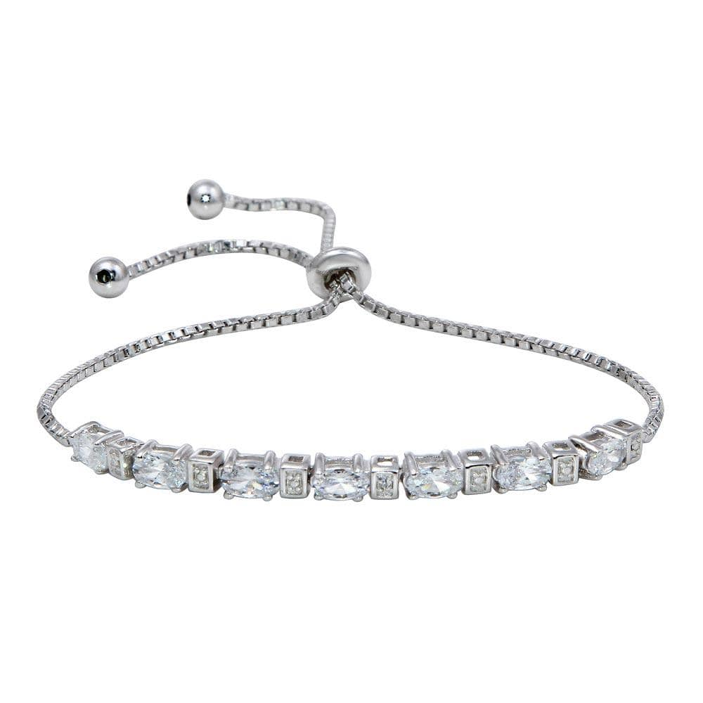 All Bracelet Diamond Stone Bolo Bracelet