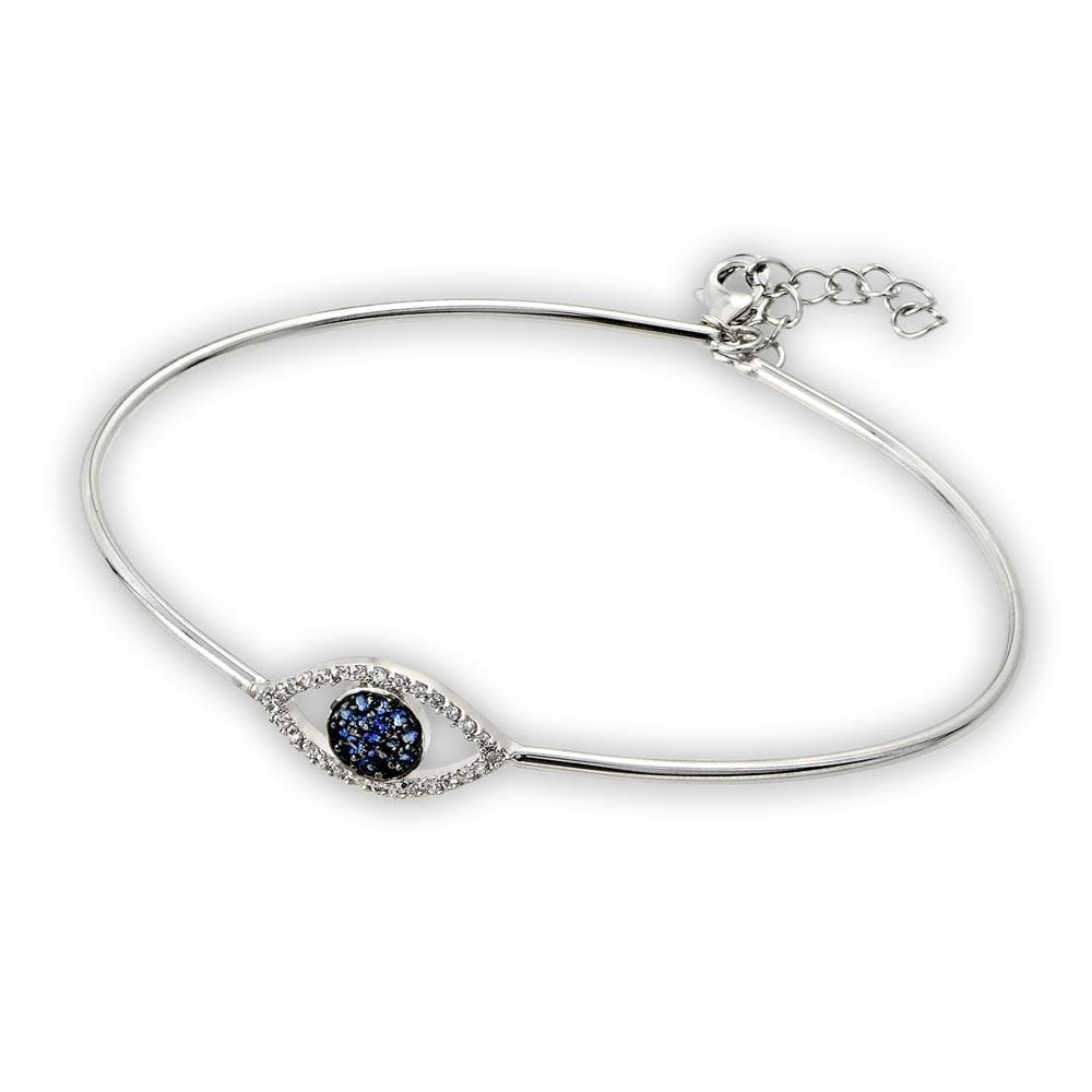 All Bracelet Evil Eye Bangle Cuff Bracelet