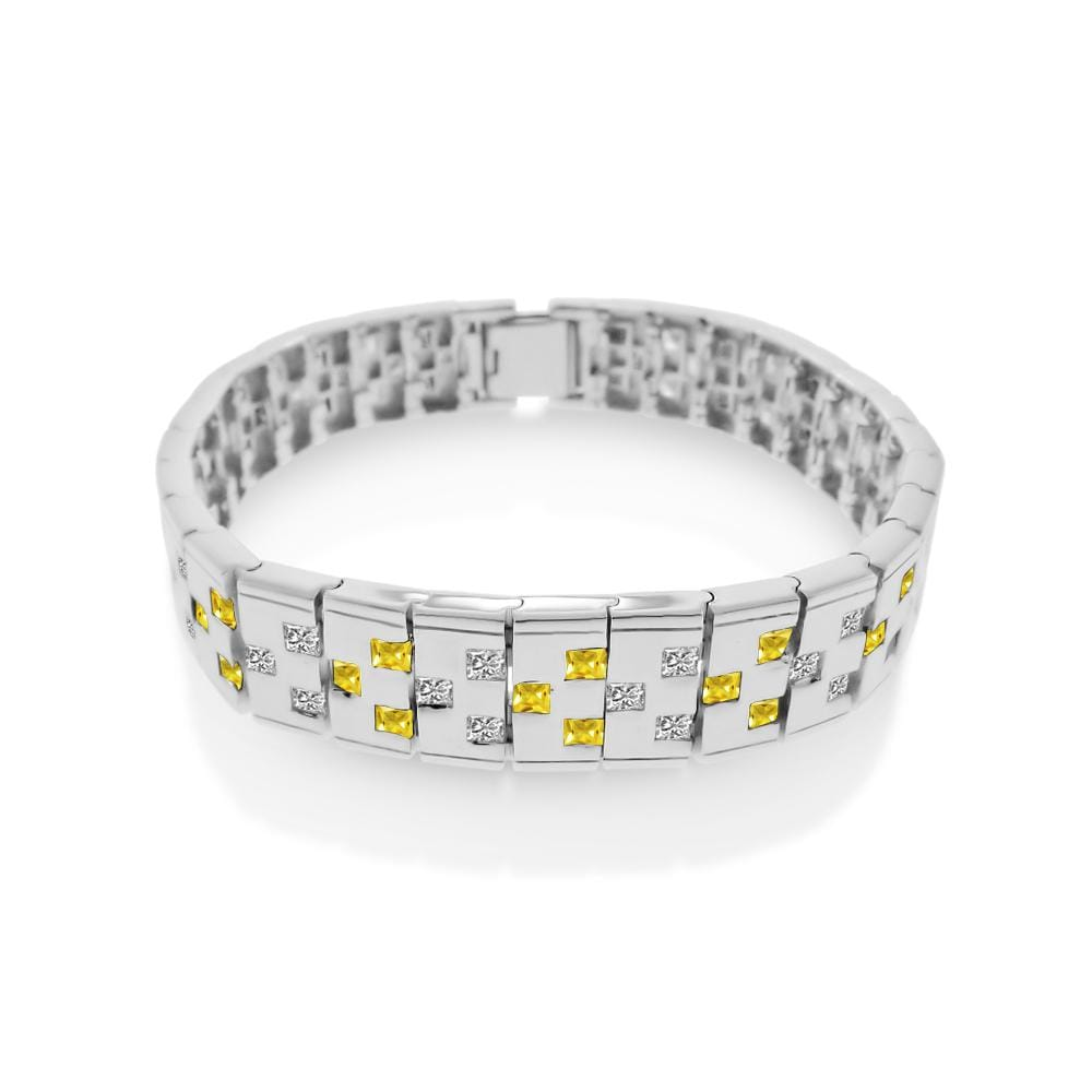 Men's Domino Design Bracelet