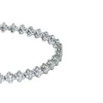 All Bracelet Micro paved Diamond Cross Bracelet