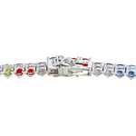 All Bracelet Multi-Colored Tennis Bracelet