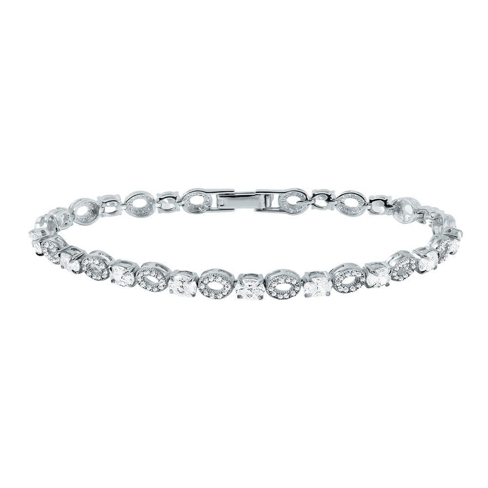 All Bracelet Round and Diamond Accented Bracelet