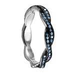 Twisted Wedding Full Eternity Band