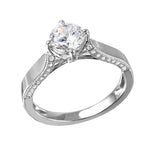 Diamond Solitaire Stone Ring