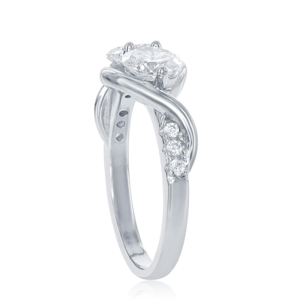 All Rings Forever Us Solitaire Ring Forever Us Solitaire Ring Sterling Silver