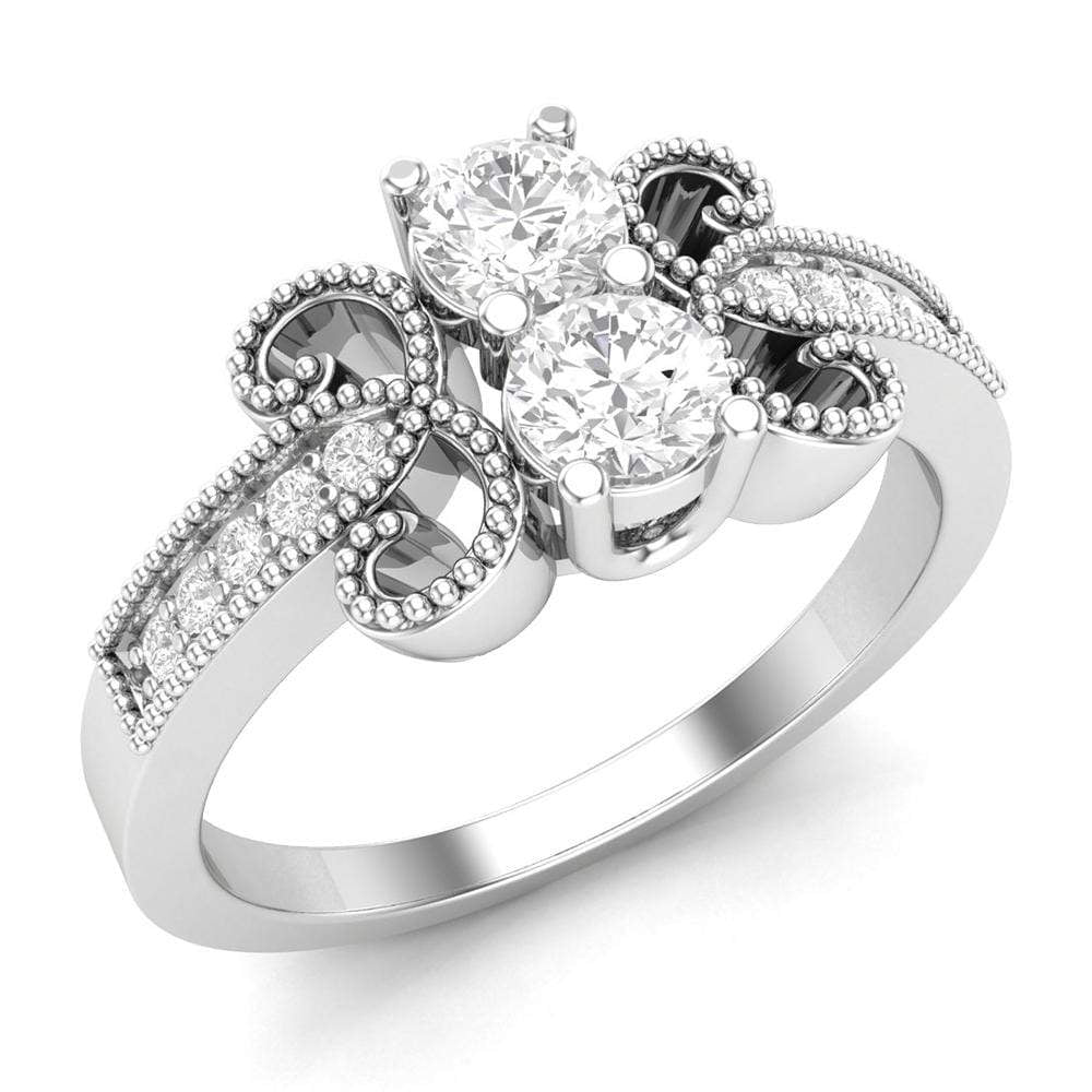 Art-Deco Engagement Ring
