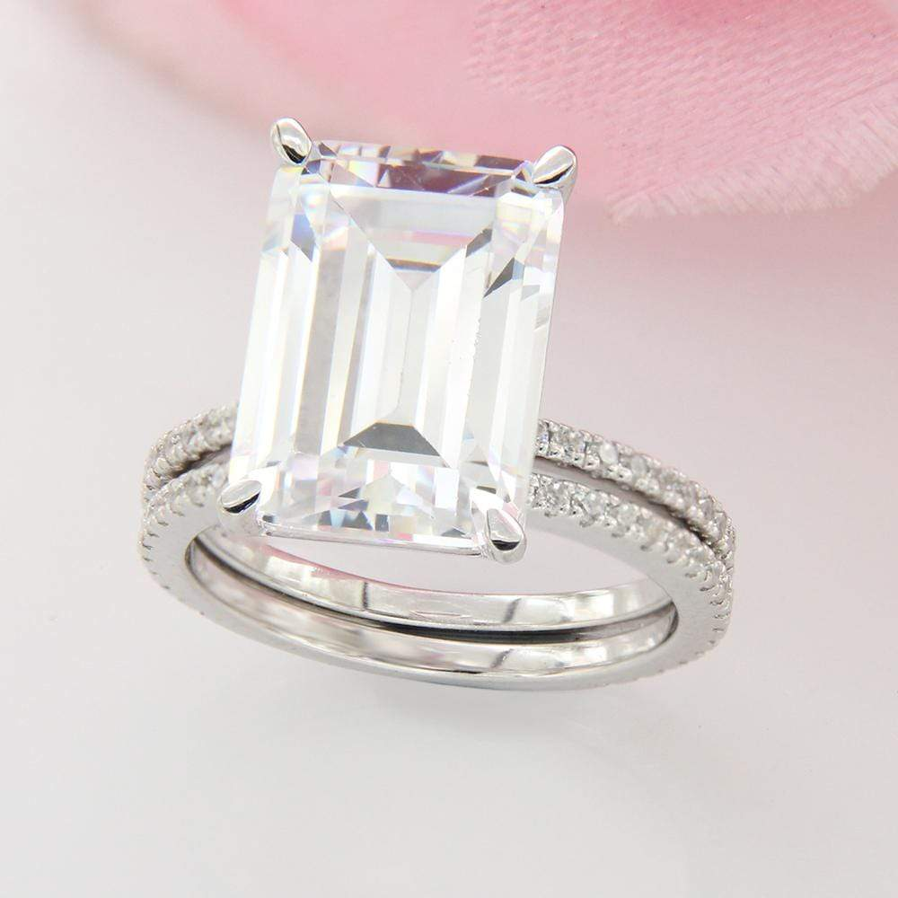 Bridal Ring Set Diamond Bridal Ring Set For Women's