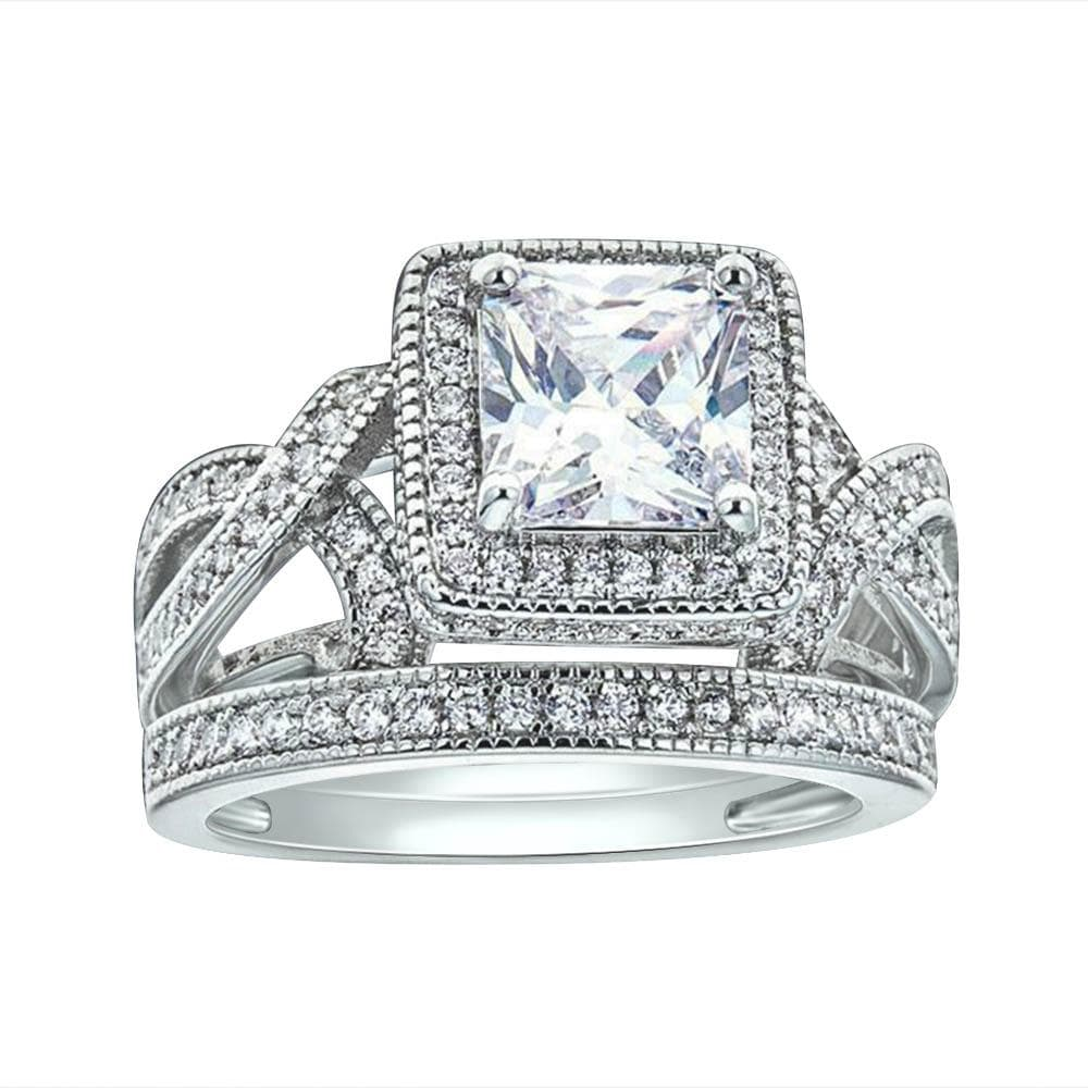 Engagement Bridal Ring Set