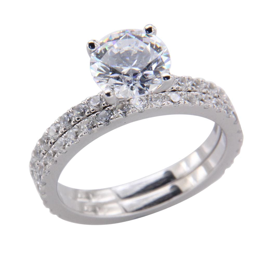 Ladies Engagement Bridal Ring Set