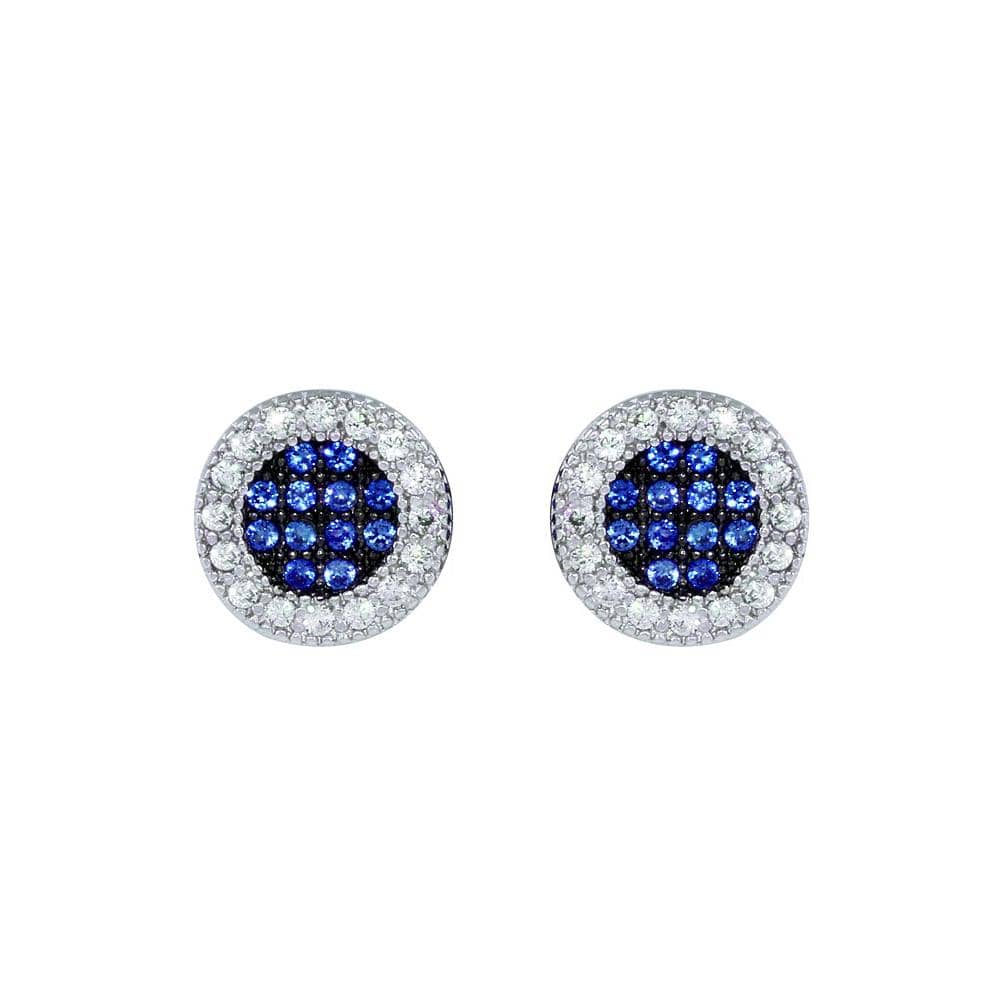 Halo Stud Milgrain Earrings