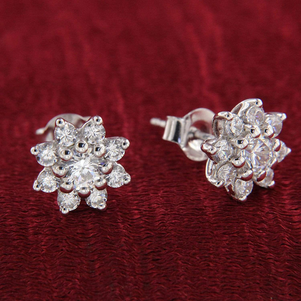 Cluster Stud Earrings