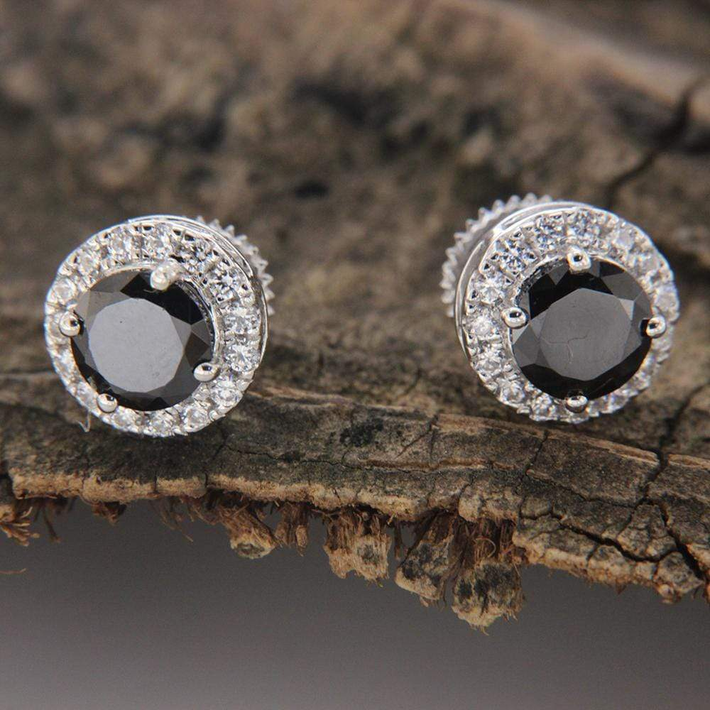 Earrings Halo Stud Earrings
