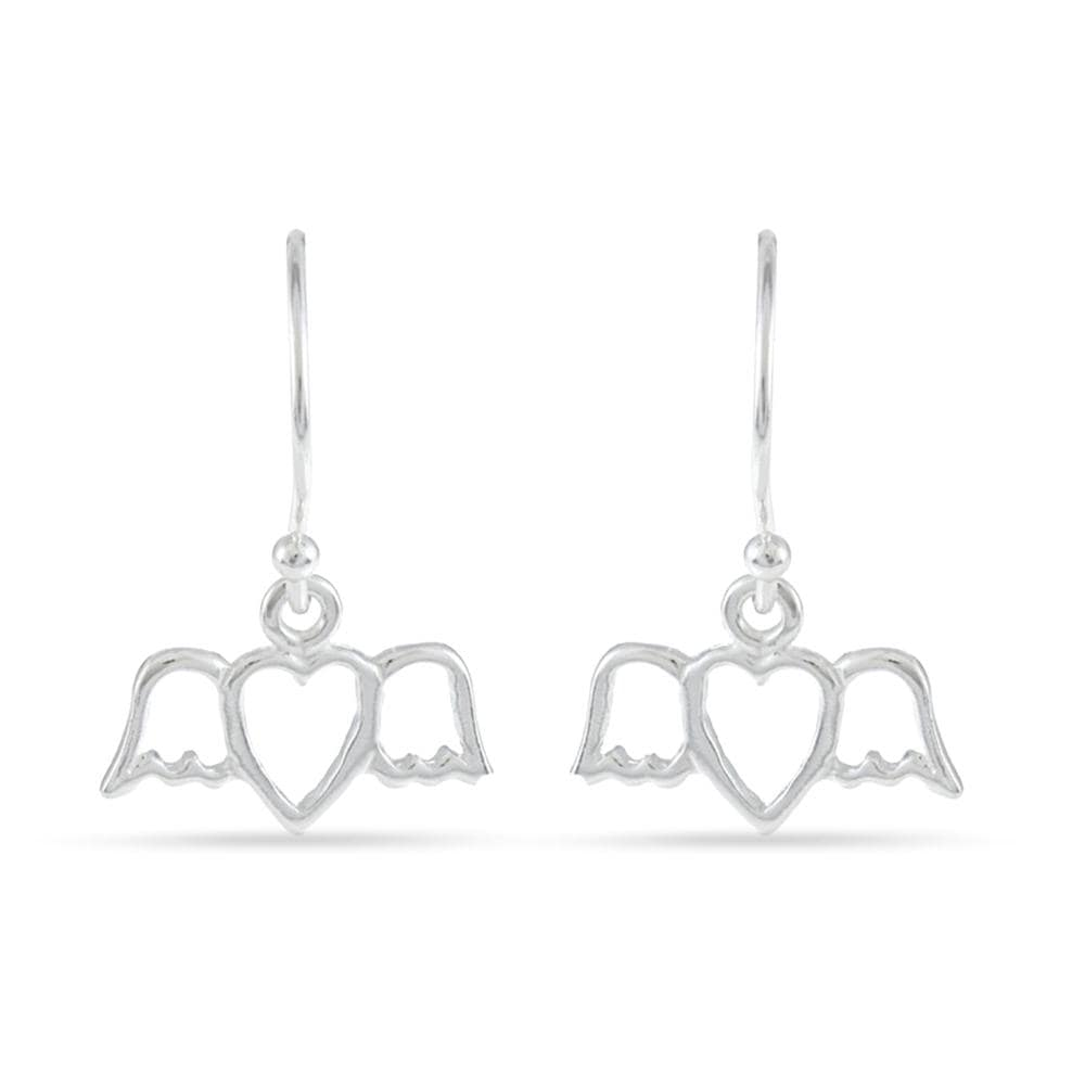 Heart with Wings Earrings