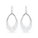 Marquise Shape Earrings