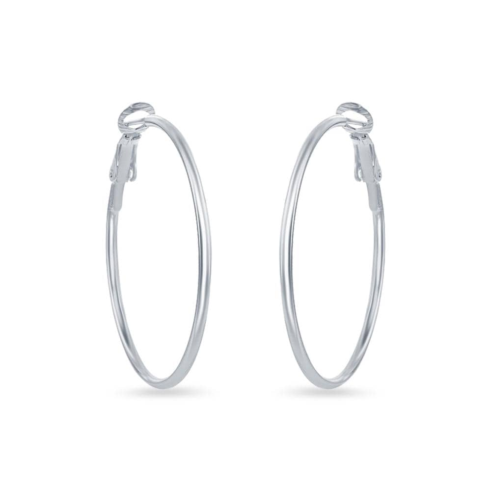 Round 38mm Hoop Earrings