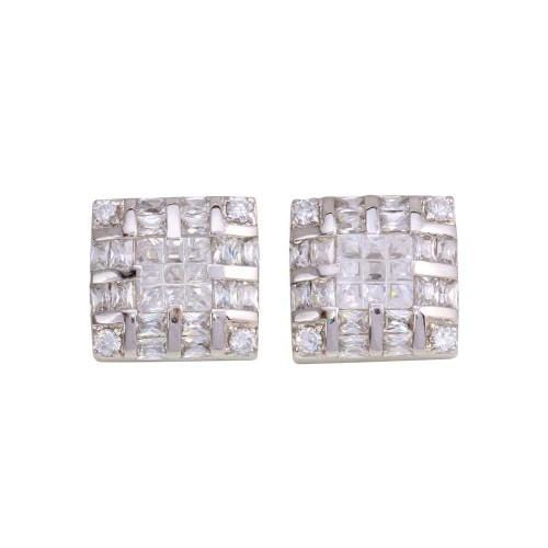 Earrings Square DC Men's Earrings