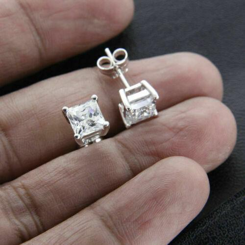 Earrings Women's Solitaire Stud Earrings
